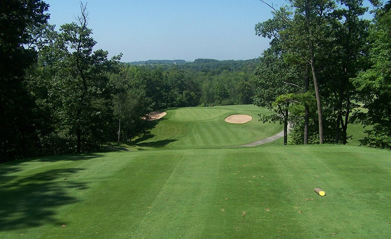 View of the fairway on the Autumn Ridge course